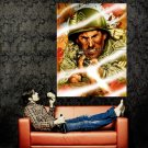 Sergeant Rock Comics Firing War Art Huge 47x35 Print POSTER