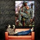 Sergeant Rock Comics War Art Huge 47x35 Print POSTER