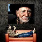 Willie Nelson Portrait Art Country Singer Music Huge 47x35 Print POSTER