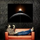 Sun Earth Moon Eclipse Space Huge 47x35 Print POSTER
