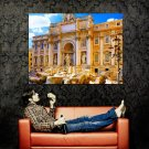 Trevi Fountain Rome Italy Around The World Huge 47x35 POSTER