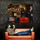 How I Met Your Mother Himym Ted Barney Robin Marshall Lily Tv Huge 47x35 Poster
