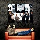 House M D Hugh Laurie Edelstein Epps TV Series Huge 47x35 Print POSTER