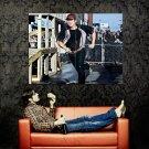 The Walking Dead Glenn Running Steven Yeun TV Series Huge 47x35 POSTER