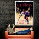 The All Story Fear Cover Vintage Retro Art Huge 47x35 POSTER