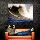 Wave Rider Surfing Extreme Ocean Water Huge 47x35 POSTER