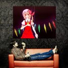 Touhou Project Girl Red Eyes Anime Art Huge 47x35 POSTER