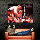 Taylor Ninja McCorriston MMA Martial Arts Huge 47x35 Print POSTER