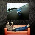 Suzuki Sport Bike Motorcycle Front Huge 47x35 Print POSTER