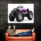 Savage Monster Truck Bigfoot Car Huge 47x35 Print POSTER
