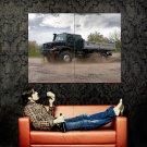 Mercedes Zetros Dirt Off Road Truck Huge 47x35 Print POSTER