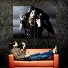 Hot Dark Asian Babe Shackles Black Huge 47x35 Print POSTER