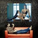 Hot Model Girl Sexy Lingerie Stocking Huge 47x35 Print POSTER