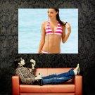Sexy Wet Girl Hot Body Bikini Huge 47x35 Print POSTER