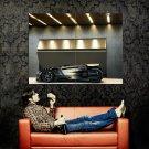Peugeot EX1 Black Supercar Huge 47x35 Print POSTER