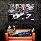User Offline Dead Emo Girl New York Huge 47x35 Print Poster