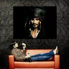 Jack Sparrow Johnny Depp CG Art Huge 47x35 Print POSTER