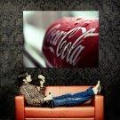 Coca Cola Tin Dewdrops Macro Huge 47x35 Print POSTER