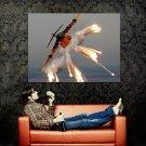 Heavy Aircraft Flares Smoke Huge 47x35 Print Poster