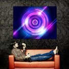 Neon Lights Cool Art Abstraction POSTER