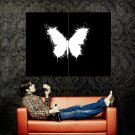 Butterfly Rorschach Test Abstraction Huge 47x35 Print Poster