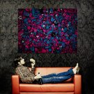 I LOVE NERDS Characters Abstraction Huge 47x35 Print Poster