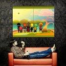 GOOF HEADS One Piece Anime Huge 47x35 Print Poster