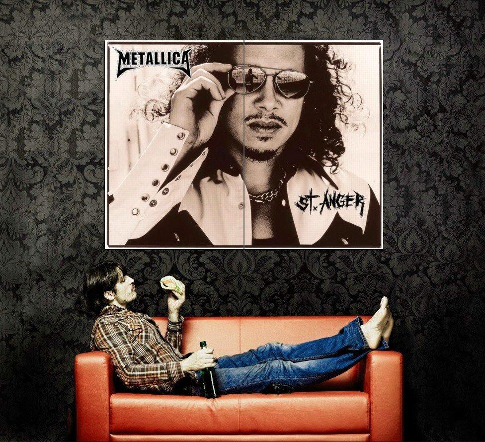Kirk Hammett Metallica Guitarists Huge 47x35 Print Poster