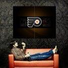 Philadelphia Flyers Logo NHL Huge 47x35 Print Poster
