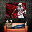 Karlos Dansby Arizona Cardinals NFL Huge 47x35 Print Poster