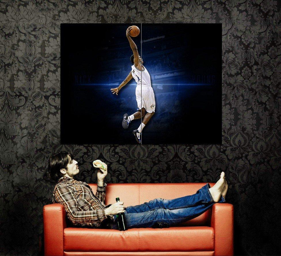 Nick Young Washington Wizards NBA Huge 47x35 Print Poster