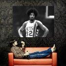 Julius Erving New Jersey Nets BW NBA Huge 47x35 Print Poster