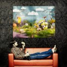 Paper Spring Application Cool Art Huge 47x35 Print Poster