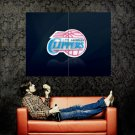 Los Angeles Clippers Logo NBA Huge 47x35 Print Poster