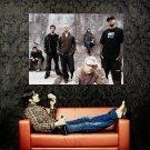 Linkin Park Group Urban New Huge 47x35 Print Poster