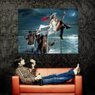 Eva Mendes Sexy Legs Campari Print Huge 47x35 POSTER