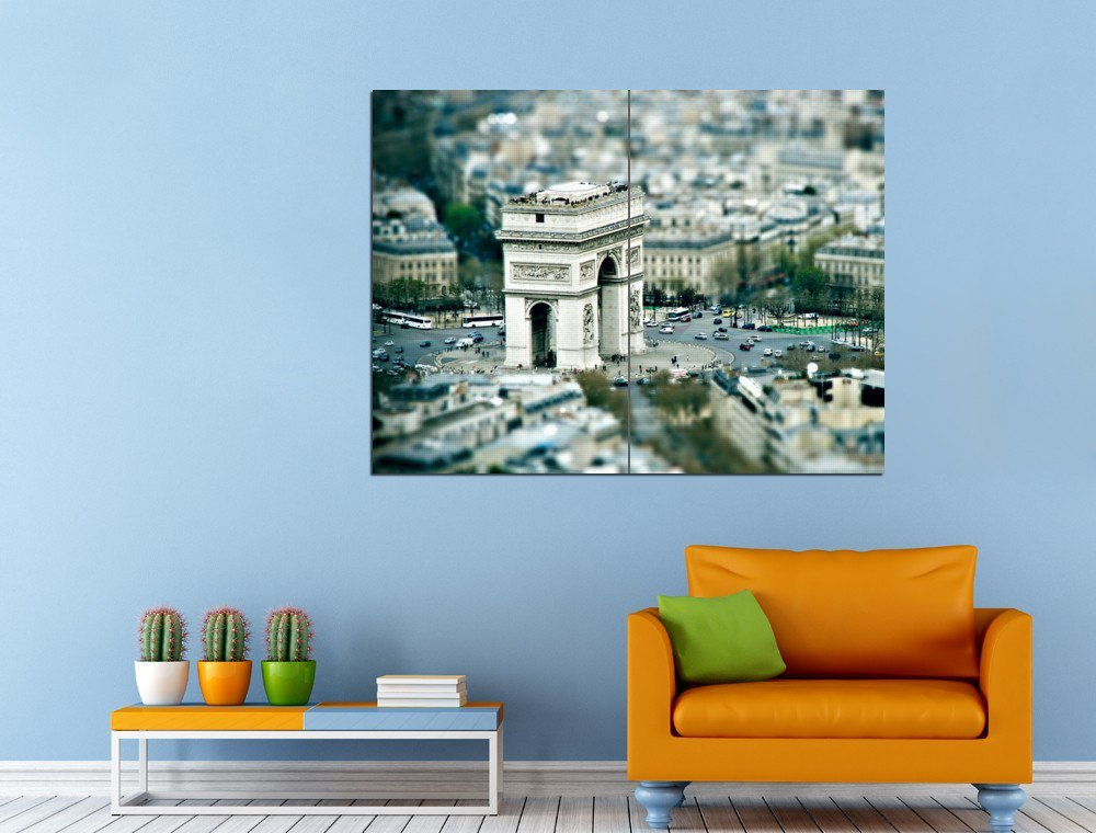 Triumphal Arch Paris France Huge 47x35 Print POSTER