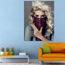 Singer Kesha Pop Dance Pop Electro Huge 47x35 Print POSTER