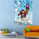 Marvel Comics Iron Man Tony Stark Huge 47x35 Print POSTER