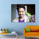 Robert Downey Jr Actor Avengers Iron Man Huge 47x35 Print POSTER