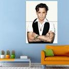 Johnny Depp Sleepy Hollow Ichabod Crane Huge 47x35 Print POSTER