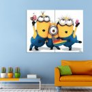 Movie Despicable Me Cartoon Minoin Huge 47x35 Print POSTER