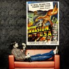 Invasion USA 1952 Retro Movie Vintage Huge 47x35 Print Poster