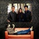 The Vampire Diaries Elena Stefan Damon Huge 47x35 Print Poster