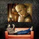 Vampire Girl Gothic Fantasy Painting Art Huge 47x35 Print Poster