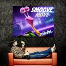 Turbo Smoove Move Animation 2013 Huge 47x35 Print Poster
