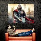 Thor The Dark World Thor Jane Movie 2013 Huge 47x35 Print Poster