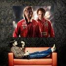 Rush Chris Hemsworth Daniel Bruhl Huge 47x35 Print Poster