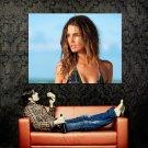 Lily Aldridge Hot Portrait Model Huge 47x35 Print Poster