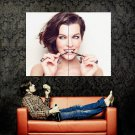 Milla Jovovich Hot Portrait Model Actress Huge 47x35 Print Poster